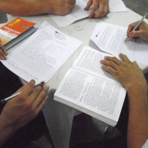 Reeducandos fazem provas para remição pela leitura nos dias 23 e 24 de janeiro