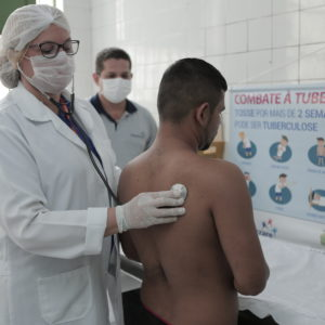 Prevenção contra a tuberculose é tema de palestras nos presídios
