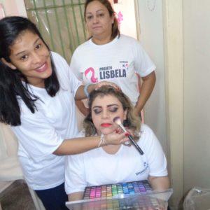 CDPF promove curso de maquiagem  profissional e pintura para internas
