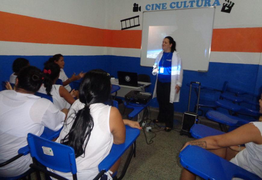 Reeducandas do CDPF participam de projeto Cine Cultura