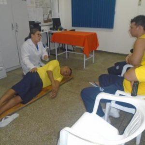 Reeducandos de Itacoatiara recebem capacitação para primeiros socorros