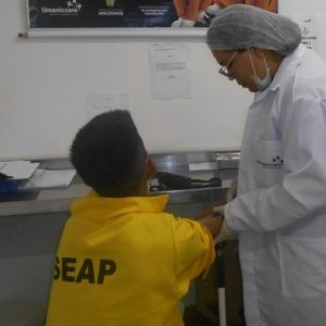Presos de Itacoatiara passam por novos exames de saúde