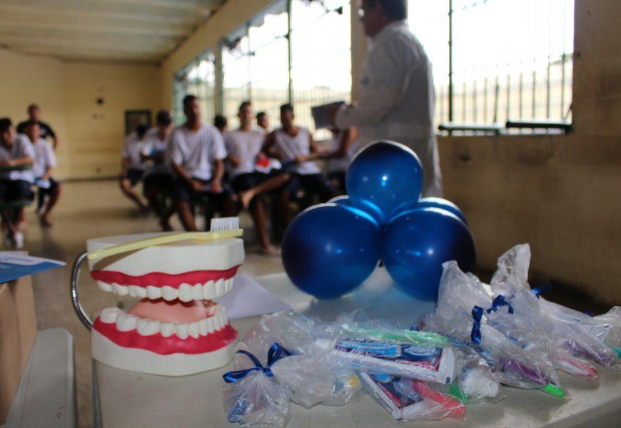 Saúde Bucal é tema de orientação para reeducandos do IPAT