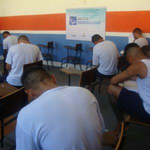 Cerca de 75 internos do Compaj participam da 31ª edição do Remição pela Leitura