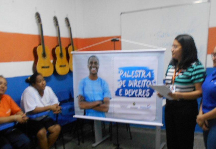 Unidades prisionais do Amazonas recebem palestra sobre direito, deveres e cidadania