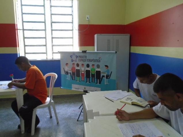 UPI desenvolve trabalhos de grupo terapêuticos quinzenais com reeducandos